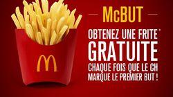 Une frite gratuite chez McDo chaque fois que les Canadiens marqueront le 1er