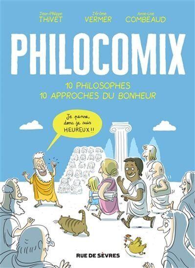 Philocomix, le bonheur, la philosophie et les
