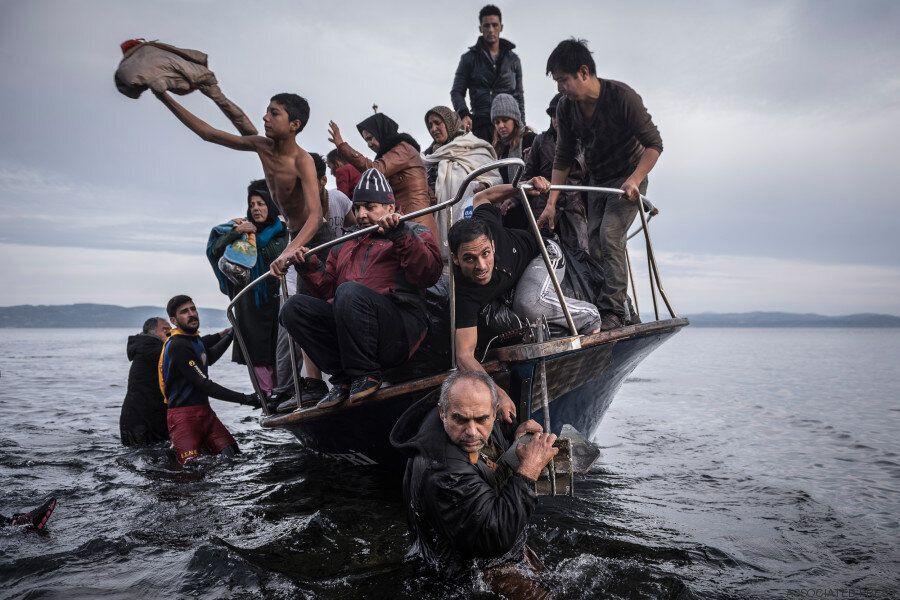 Cette photo incroyable, digne du «Radeau de la méduse», gagne le prix
