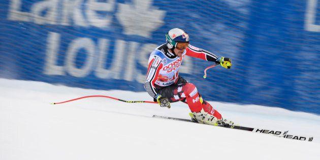Erik Guay se retire de la descente à la Coupe du monde de Lake