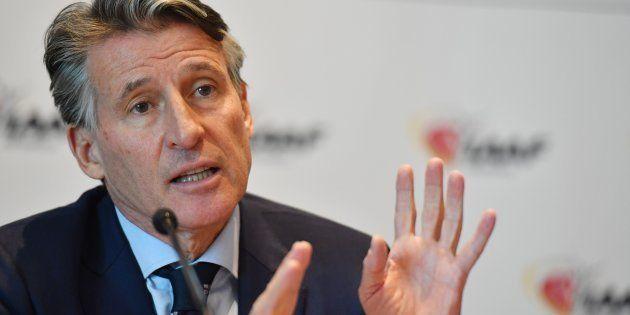 Le président de l'IAAF, Sebastian
