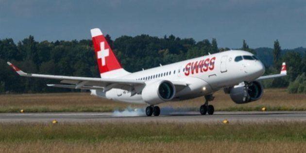 Premier vol commercial de la C Series avec des passagers à