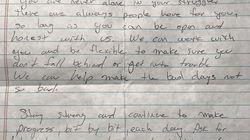 La lettre d'excuses d'un professeur qui fera du bien à tous ceux qui souffrent de troubles