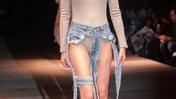 Ces jeans string ne laissent pas place à