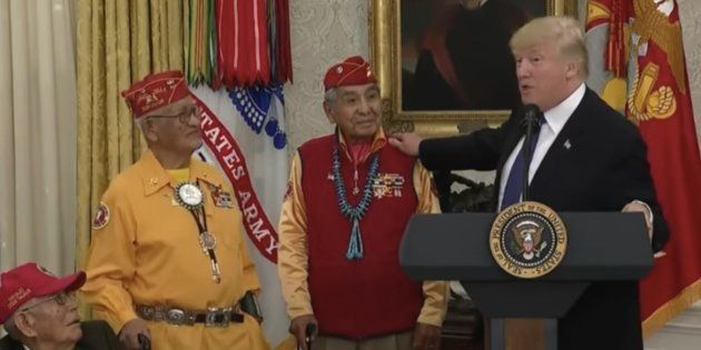 Donald Trump s'amuse à surnommer une élue «Pocahontas» en pleine