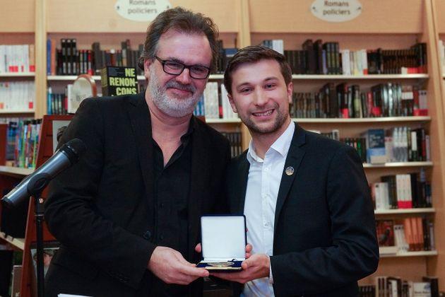 Patrick Senécal et Gabriel