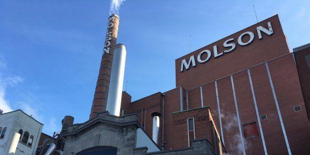 Montréal et la brasserie Molson, en sept tranches