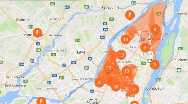 Une panne d'électricité majeure à Montréal a été causée par un employé
