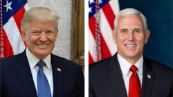 Les portraits officiels de Donald Trump et Mike Pence valent le