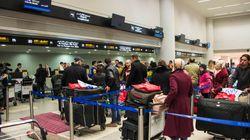 Le précontrôle dans les aéroports canadiens inquiète des minorités