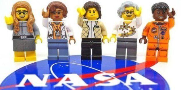 Ces cinq femmes de la Nasa sont les nouvelles figurines de