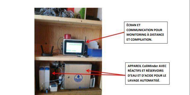 Un nouvel appareil permettra de détecter la E. coli dans les sites de