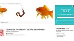 Le «Journal de Mourréal» lance une campagne de