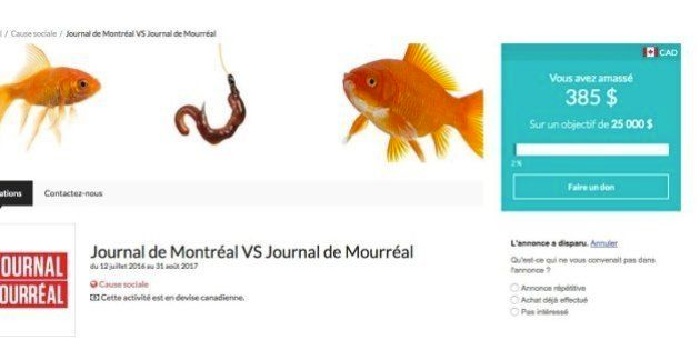Le «Journal de Mourréal» lance une campagne de sociofinancement pour sa