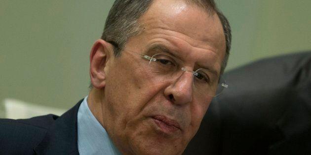 Le ministre des Affaires étrangères de la Russie Sergueï
