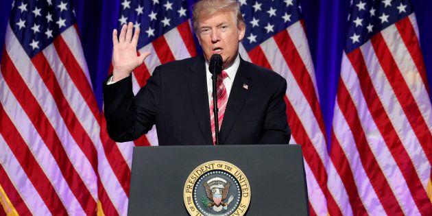 Trump s'en prend à la «perfide» CNN après une information