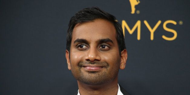 Actor Aziz Ansari from the Netflix series