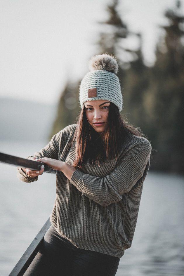 Gibou: des modèles 100% québécois tricotés par des retraitées