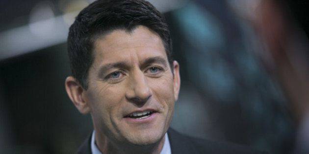 U.S. Representative Paul Ryan, a Wisconsin Republican, speaks after a Bloomberg Television interview...