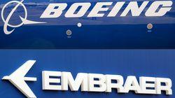 Boeing et Embraer annoncent des discussions en vue d'un