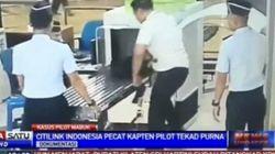 Incapable d'articuler et titubant, un pilote indonésien est débarqué