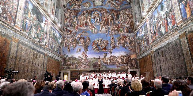Un concert dans la Chapelle Sixtine, le 17