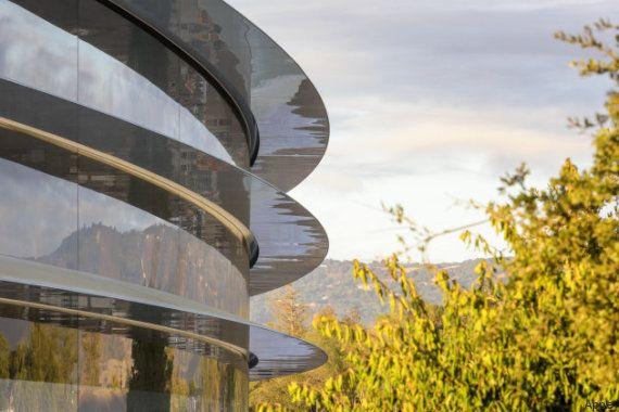 Apple emménagera à partir d'avril dans son «Park» aux allures de vaisseau