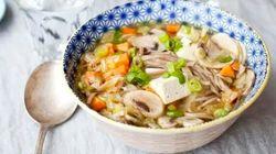 4 recettes de soupe pour affronter la grippe et