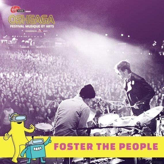 Osheaga confirme que Foster The People fait partie de sa programmation
