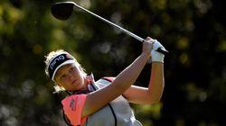 Brooke Henderson est nommée l'athlète féminine de La Presse