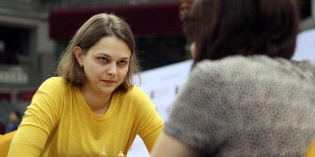 La joueuse ukrainienne d'échecs Anna