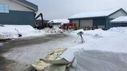 La toiture d'une ferme s'effondre à Saint-Tite: une personne manque à
