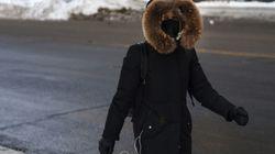 Le froid polaire enveloppe pratiquement tout le