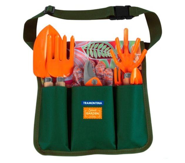 Este kit de jardinagem do site da Casa&Construção custa R$