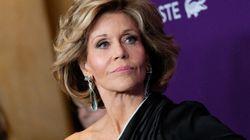 Jane Fonda est sublime sur ce tapis