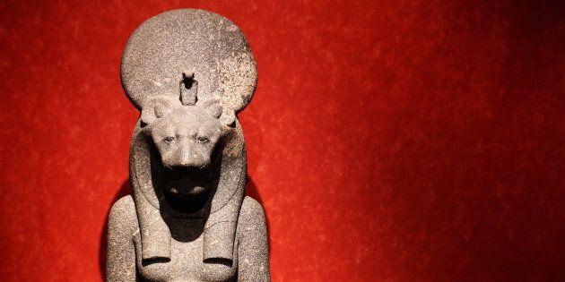 D'autres statues de Sekhmet, comme celle-ci, ont été découverte dans d'autres temples