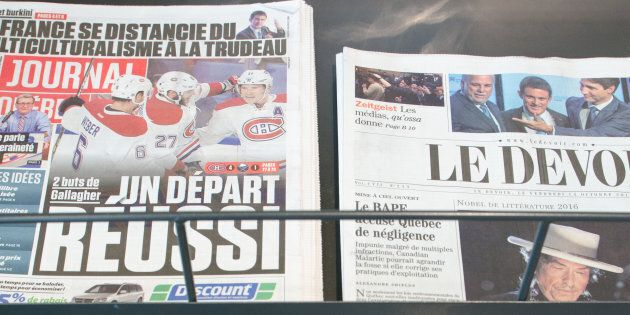 Crise dans l'industrie des médias: Québec détaillera son aide