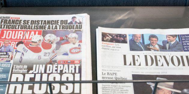 Québec investit 36 M$ pour soutenir la presse