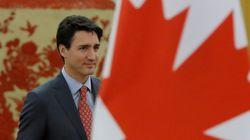 Justin Trudeau a discuté avec le président