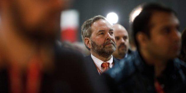 Thomas Mulcair revient prendre sa place en attendant son successeur à la tête du