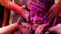 Les plus belles photos du Festival Holi