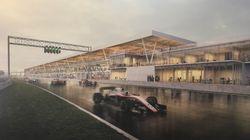 Voici les futurs paddocks du circuit