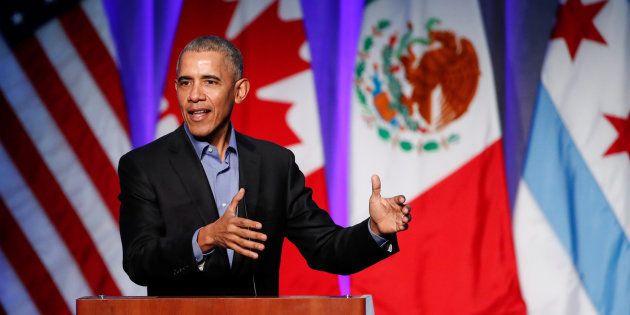 Barack Obama, devant le Economic Club de Chicago mettait, son auditoire en garde quant à la fragilité de la démocratie, en invoquant la montée du nazisme au début du 20e siècle.