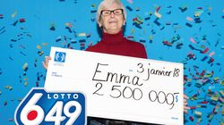 Une Montréalaise gagne 2,5 M$ à la Lotto