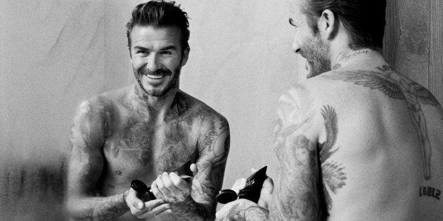 David Beckham lance sa ligne de soins pour hommes HOUSE