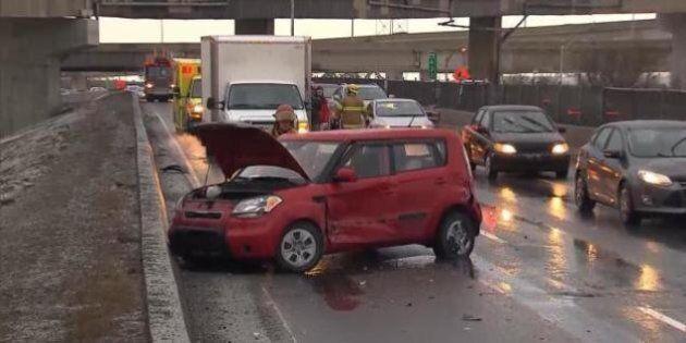 Des conditions routières difficiles dans l'ensemble du