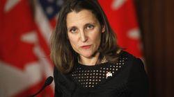 Le Canada veut garder l'ALÉNA, mais se «prépare au pire», affirme Chrystia