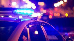 Violente embardée à Montréal: un blessé