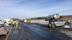 La Sûreté du Québec cherche des témoins de la collision à