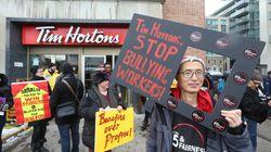 La FTQ juge «dégueulasse» les agissements d'un Tim Hortons de